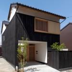 (日本語) 大橋川河畔の家